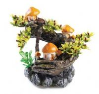 Classic Mushroom Tree ornament for biorb fish tanks Aquarium Decoration